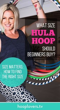Size matters and finding the right size hoop for you is essential for finding your hoop dance flow (or even keeping the freakin' thing UP!) Here are a few tips to help you buy the right size hula hoop: