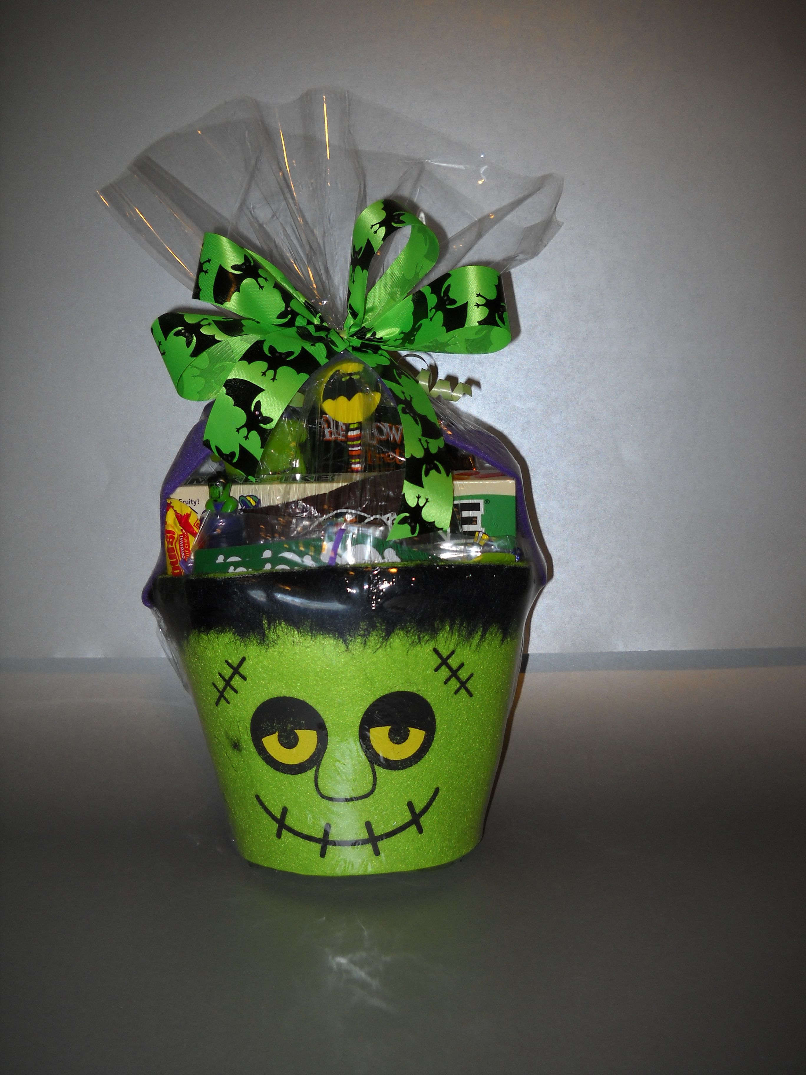 Frankie Halloween Gift Basket, for all my little old neighbors and ...