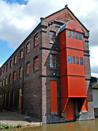 Middleport Pottery, Stoke-on-Trent, Staffordshire England