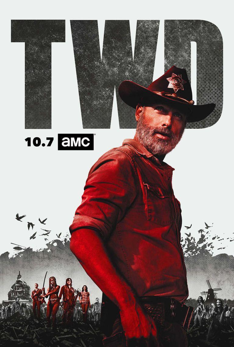 Does Walking Dead S9 Poster Hint At Rick S Endgame The Walking Dead Poster Walking Dead Season Walking Dead Season 9