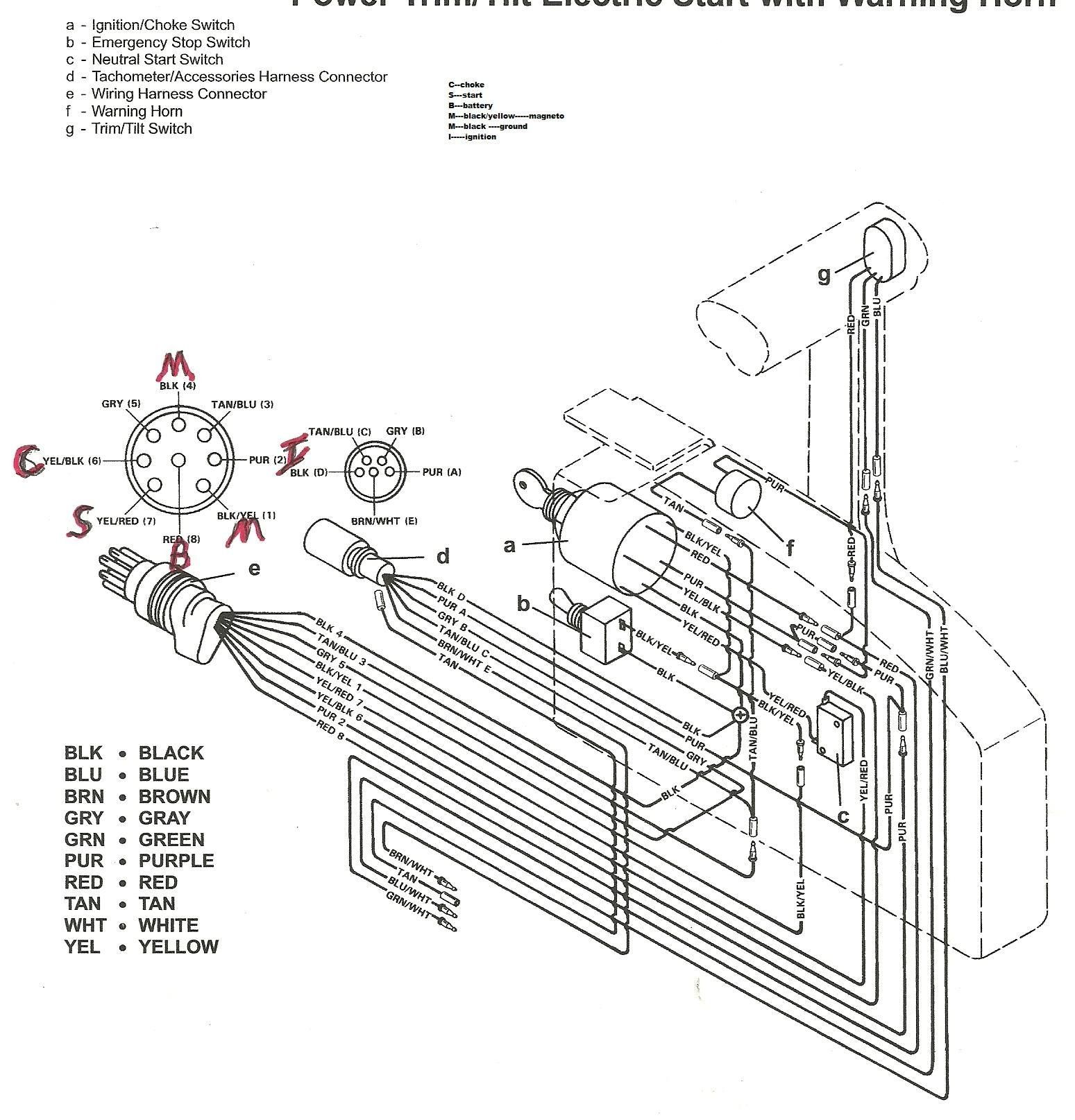 New Wiring Diagram For Emergency Key Switch Diagram Mercury Outboard Emergency