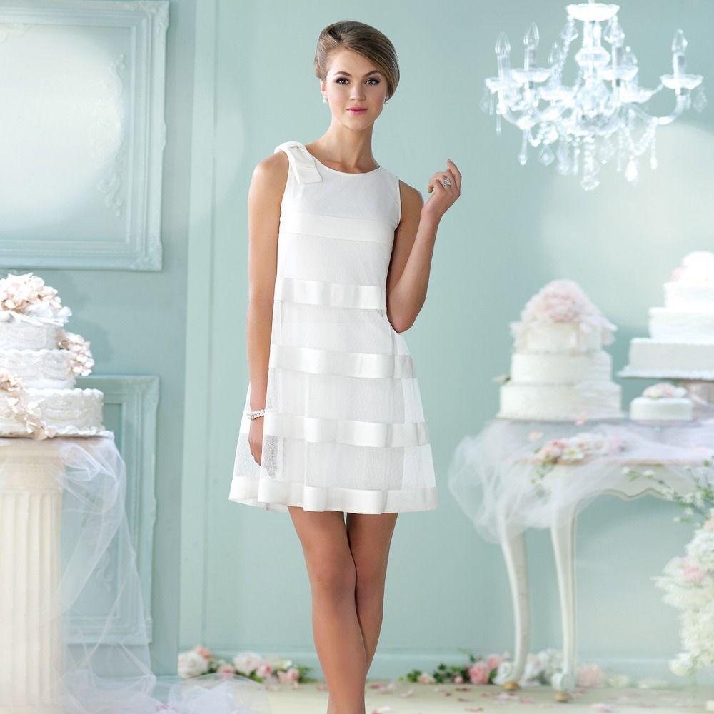 Kurze Brautkleider | Funky wedding dresses