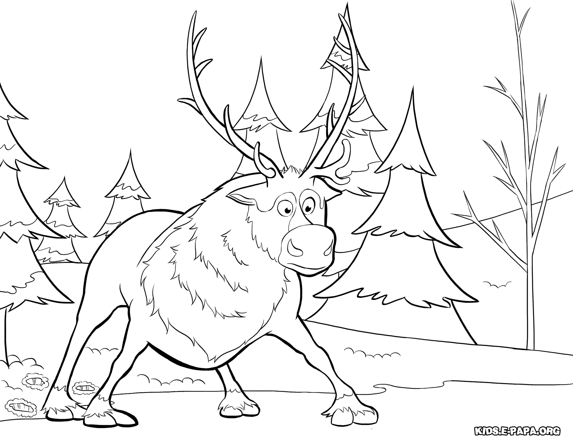 ficial Frozen Illustrations Coloring Pages