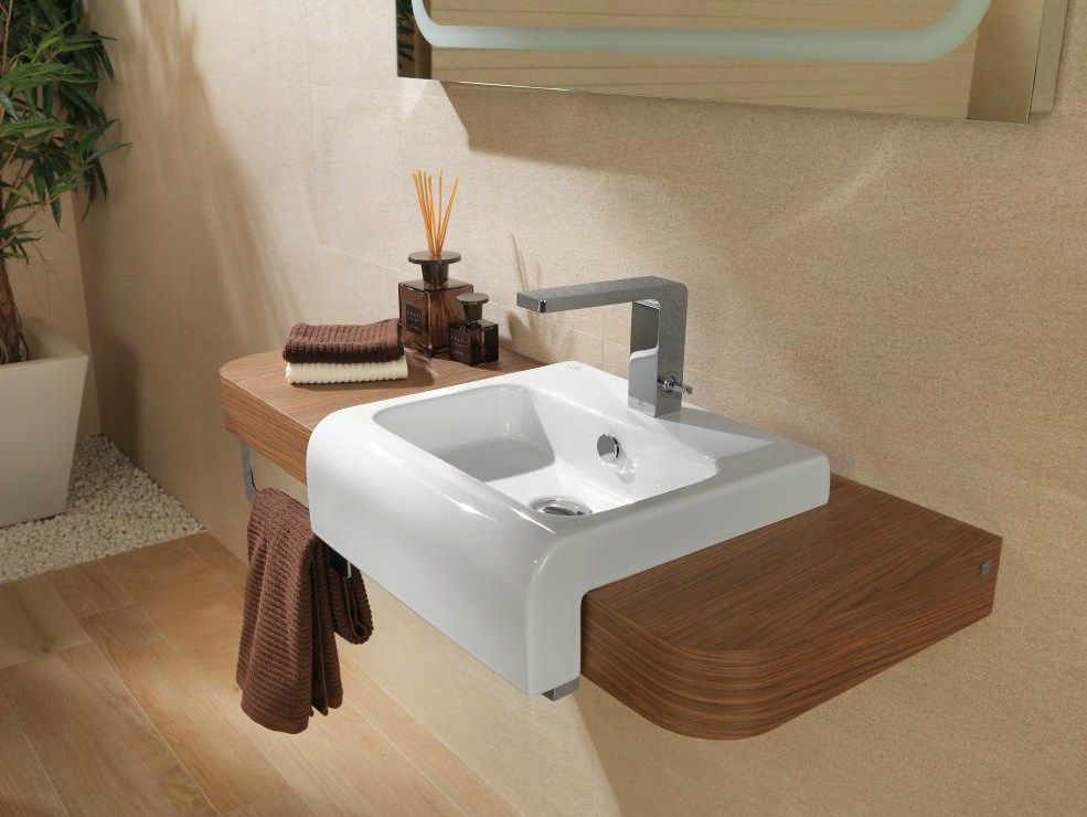 NEOX Plan de toilette simple by NOKEN DESIGN bathroom Pinterest