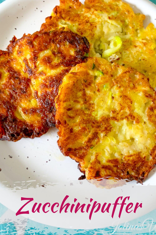 Zucchinipuffer - einfach und lecker