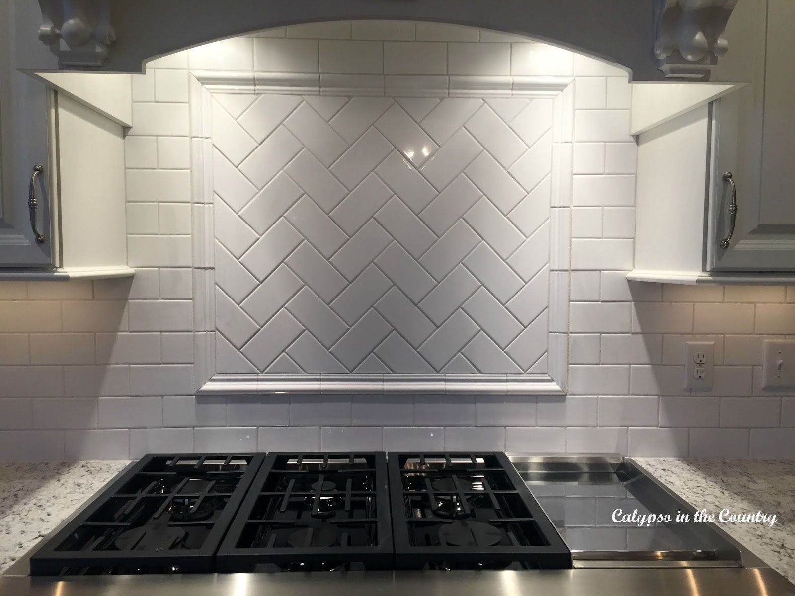 Subway Tile How I Decided On The Pattern And Grout Subway Tile Design White Subway Tile Backsplash Herringbone Subway Tile