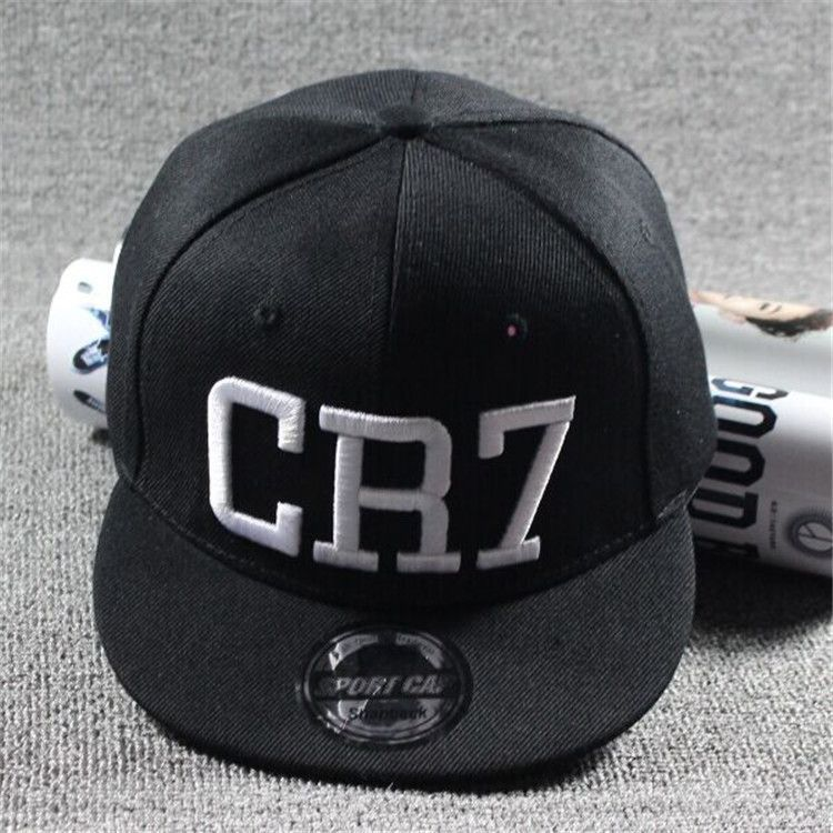 2016 Brand Children Soccer Star Ronaldo CR7 Embroidery Kids Baseball Cap Hat Bone Boys Girls Sports Snapback Hip-hop Caps Gorras