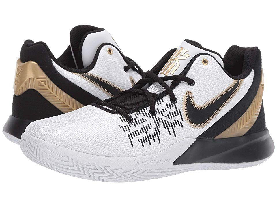 new style dc612 0b480 Nike Kyrie Flytrap II Men s Basketball Shoes White Metallic Gold Black