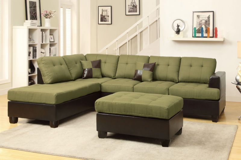 Details about Sectional Sofa Contemporary Sectionals Couch ...