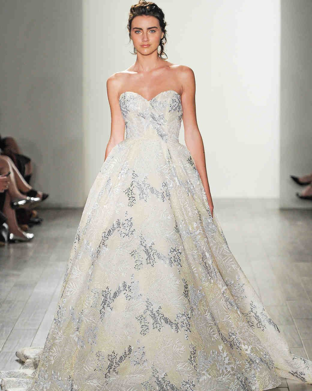 Lazaro fall wedding dress collection bliss pinterest