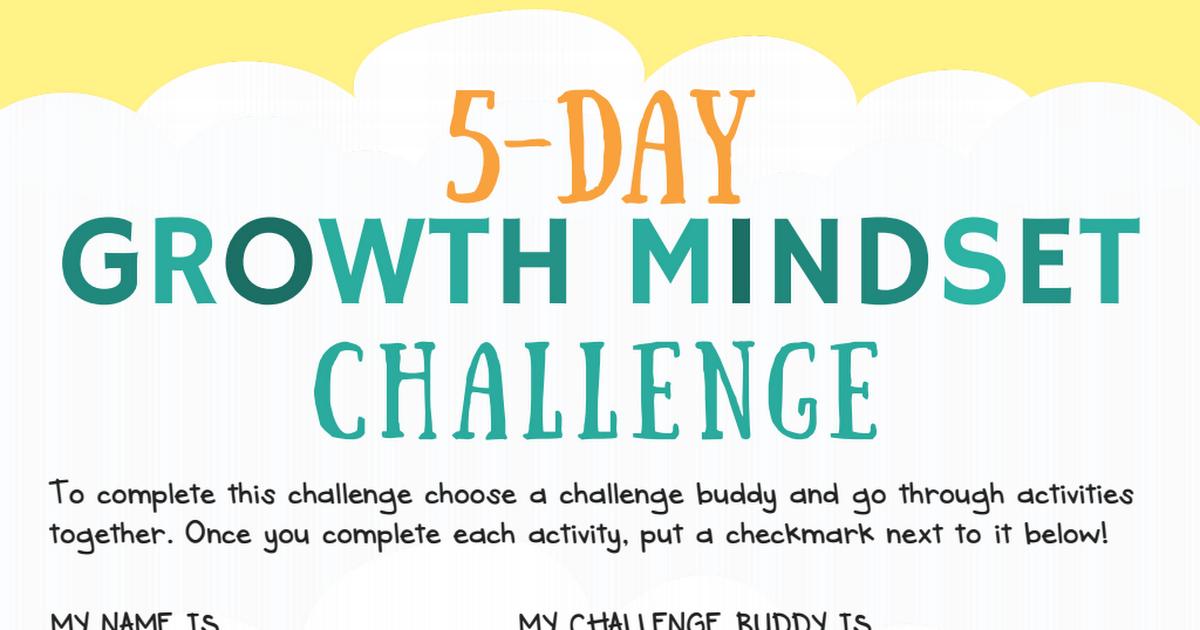 5 day growth mindset challenge for kids big life journalpdf 5 day growth mindset challenge for kids big life fandeluxe Choice Image