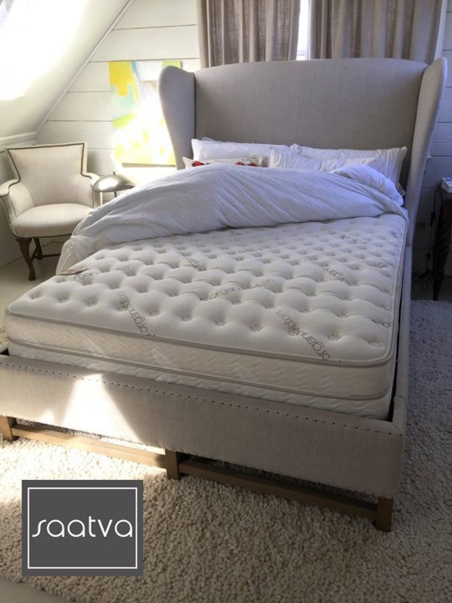 Review Saatva Luxury Firm Mattress Luxury mattresses