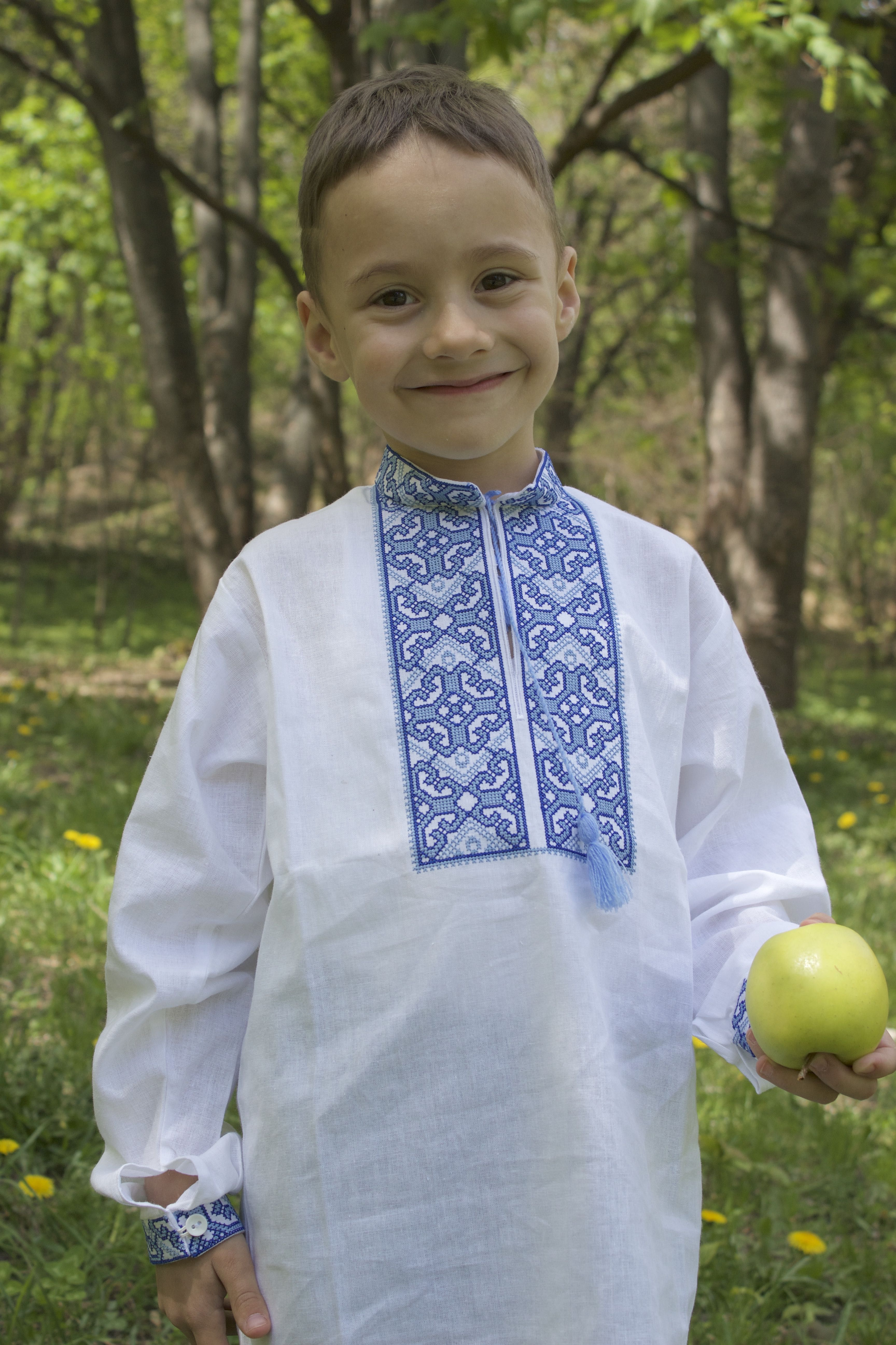 fe95dadd1f85cb Вишиванки з натурального льону для хлопчиків та дівчаток krainavyshyvki.com