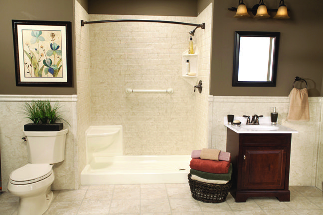 Accessorizing With Almond Colored Fixtures With Images Tub