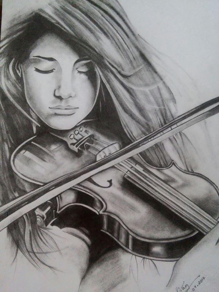 Pencil Sketch | Pencil Shading | Drawing | Sew Elegance ...