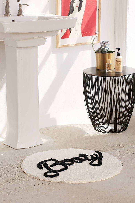 Tapis Rond Pas Cher Et Design Blog Deco Round Bath Mats Urban Outfitters Bathroom Round Bathroom Rugs