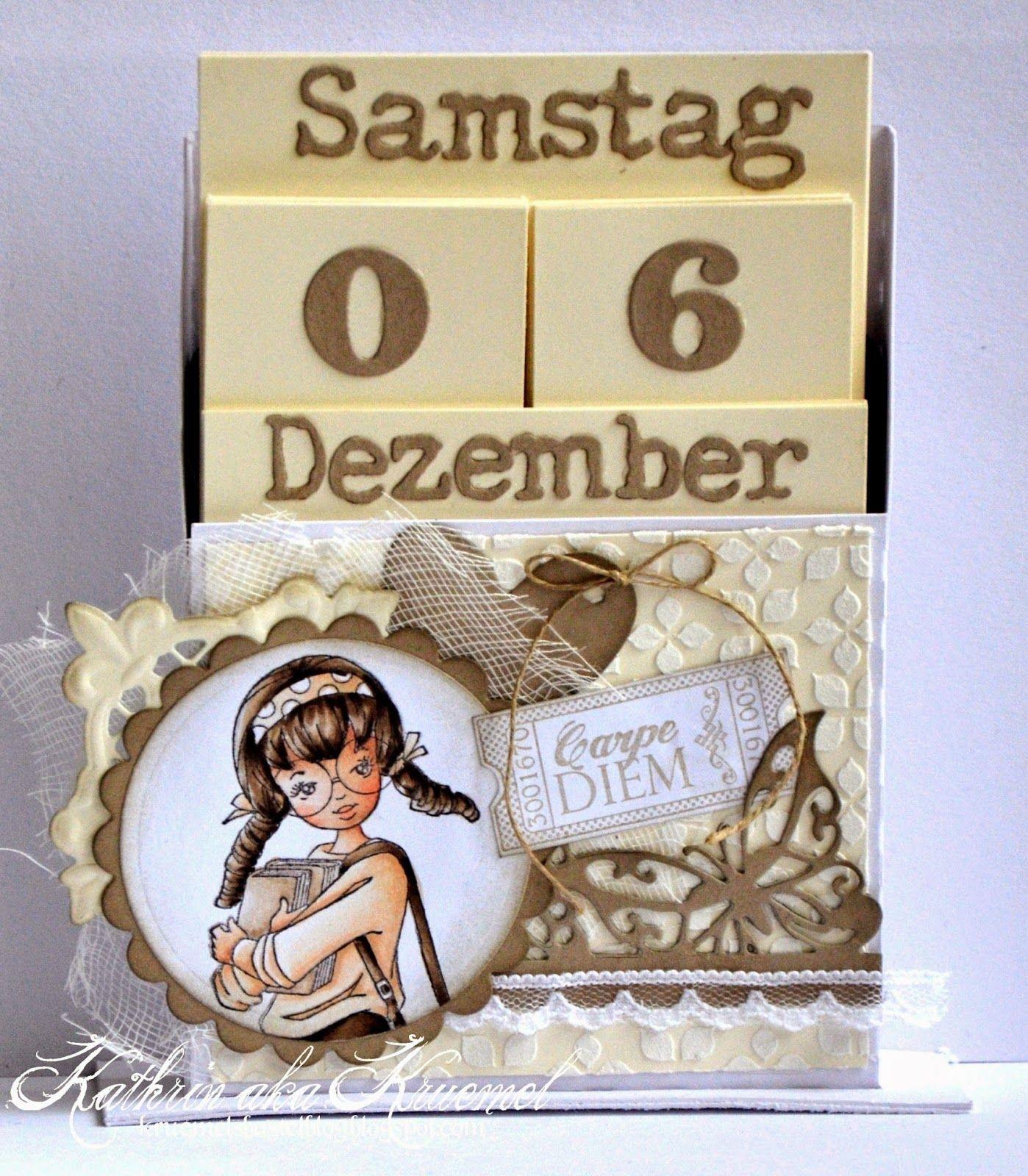 Stempeleinmaleins: Desk Calendar Desk Calendar ~