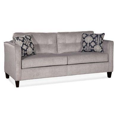 Serta Upholstery Elizabeth Queen Sleeper Sofa Reviews Wayfair