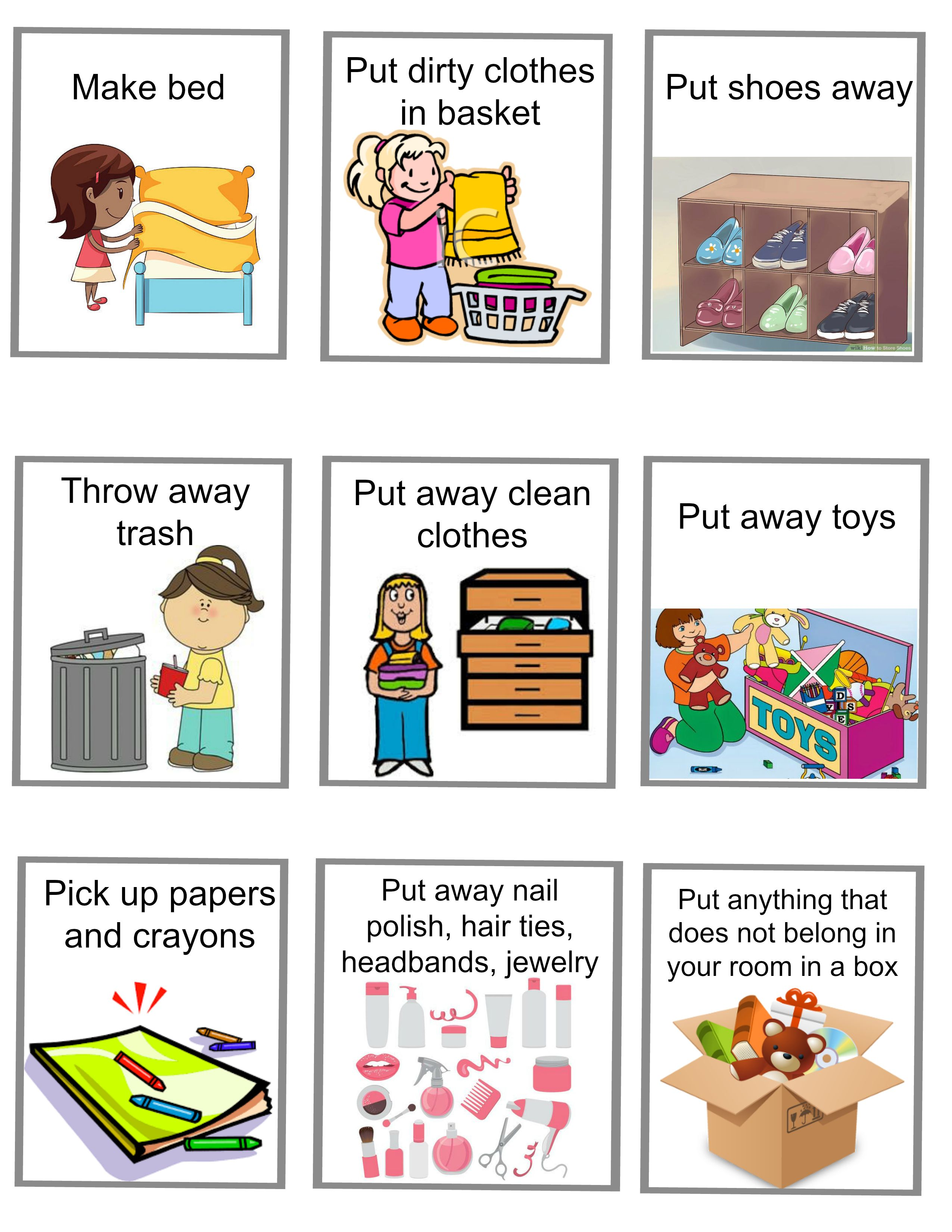 Help Your Kids Learn How To Clean Their Own Rooms For Every Child