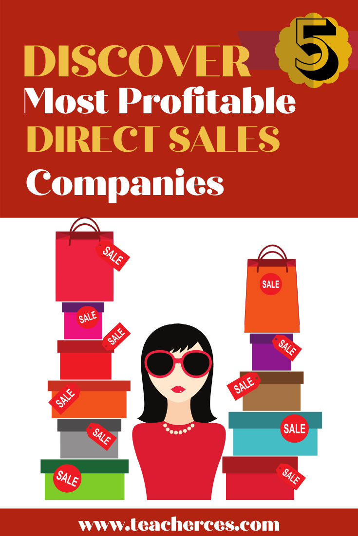 Five Most Profitable Direct Sales Companies for 2019 in