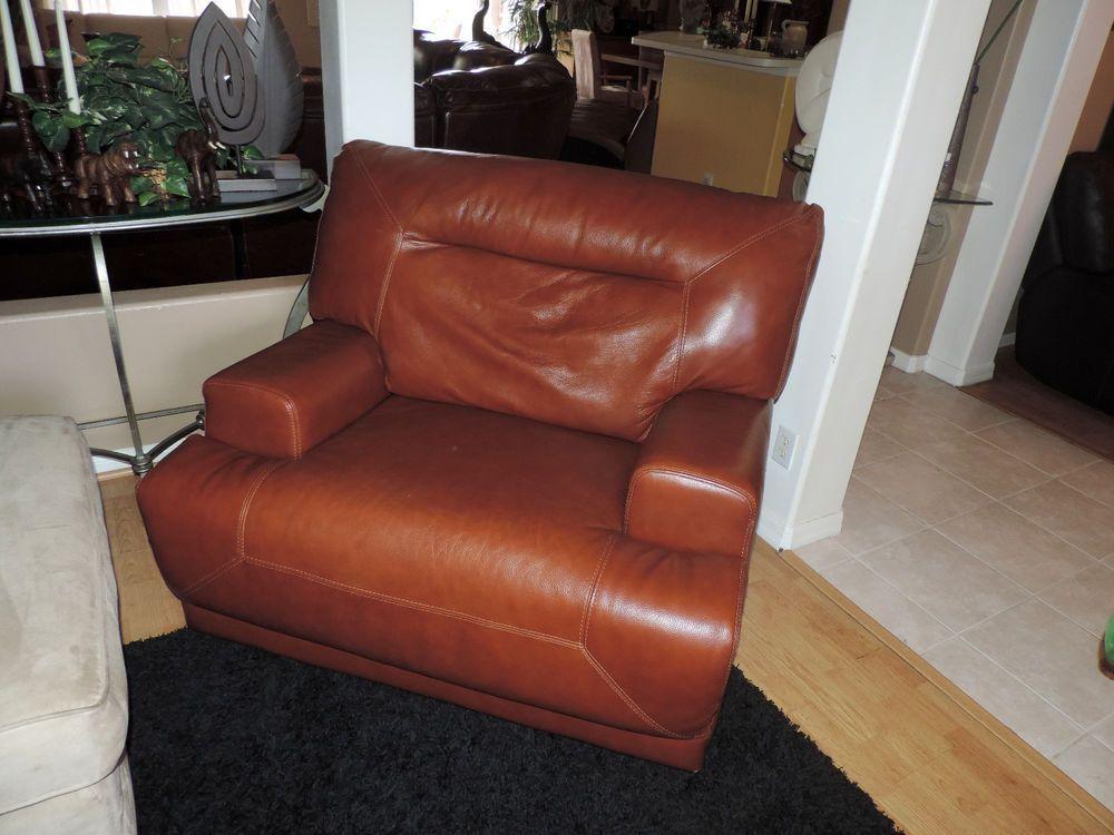 Best Ricardo Cognac Leather Power Reclining Chair We Ship 400 x 300