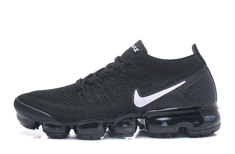 the latest 0259e 944c2 Nike Air Vapormax Flyknit 2 942842-001 Black White-Dark Grey