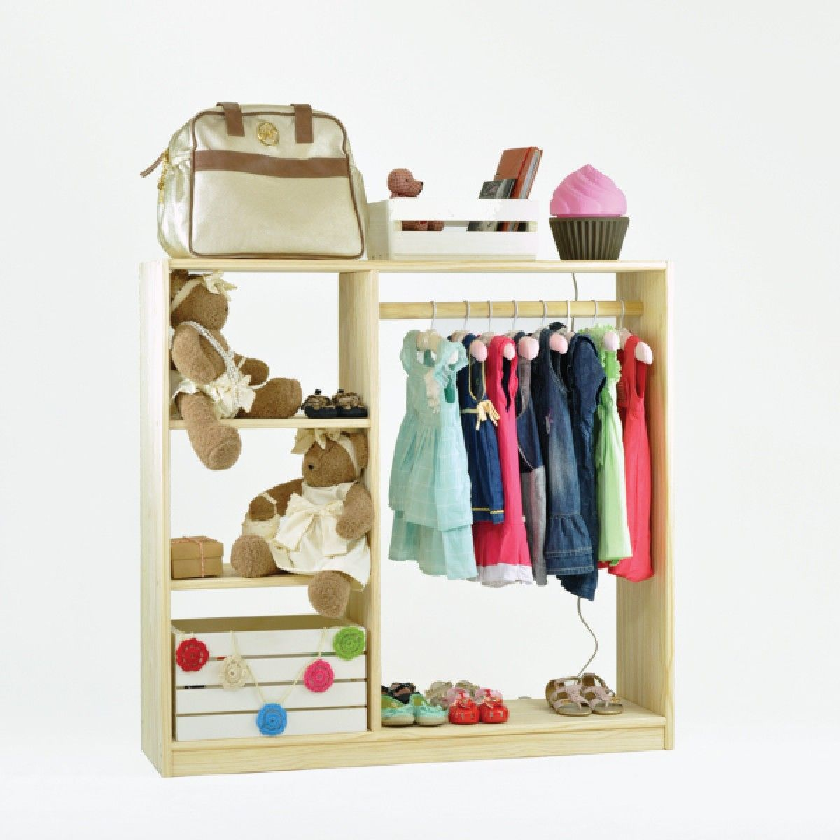 Closet Infantil Montessori - Tadah! Design | Muebles | Pinterest ...