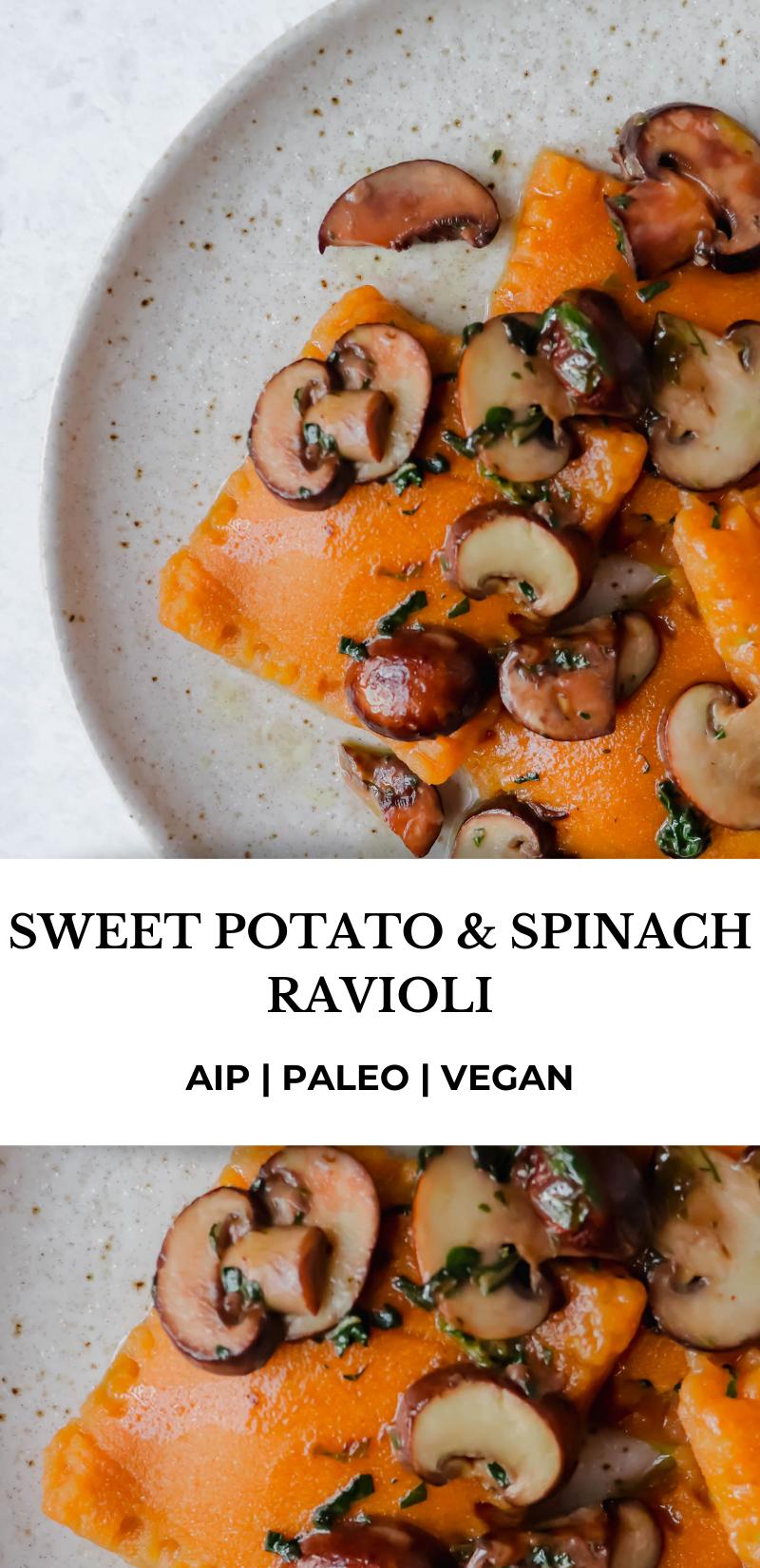 Sweet Potato And Spinach Ravioli Heal Me Delicious Recipe Aip Paleo Recipes Autoimmune Paleo Recipes Aip Diet Recipes