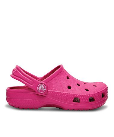 db1b38510 Another great find on  zulily! Fuchsia Feat Clog by Crocs  zulilyfinds