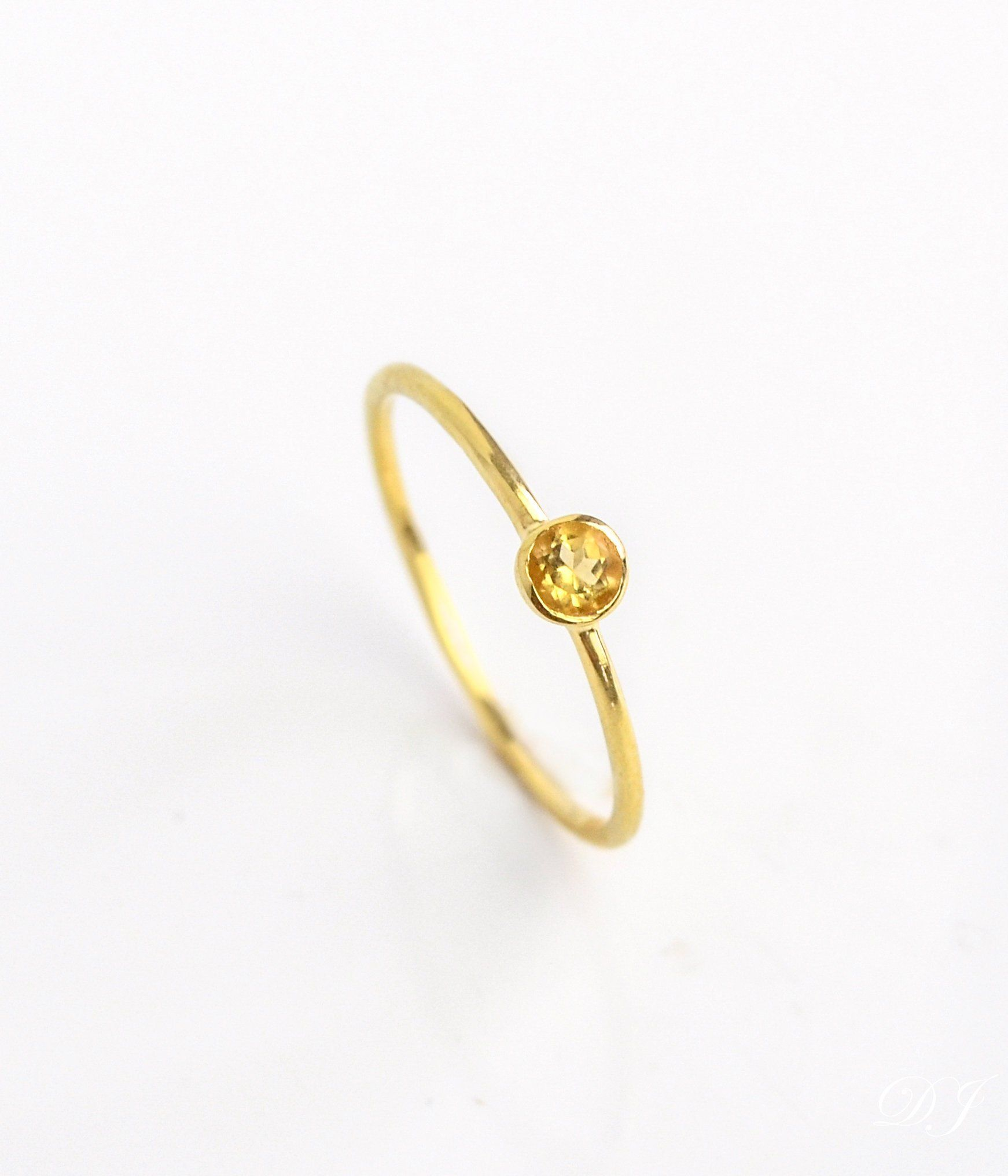 November Birthstone Ring Statement Ring Women Rings Yellow Oval Gemstone Ring Gift for Girlfriend Faceted Citrine Ring Sterling Silver