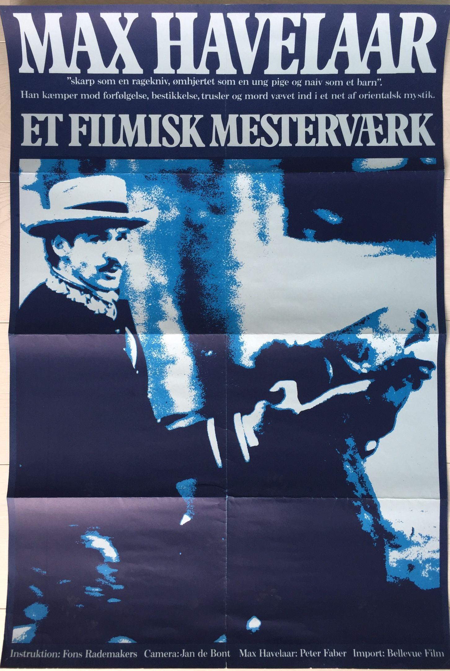 Max Havelaar - poster Denemarken