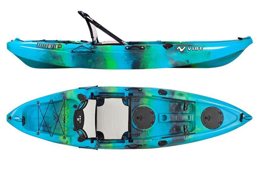 Vibe Yellowfin 100 New Kayak from Vibe! Inflatable