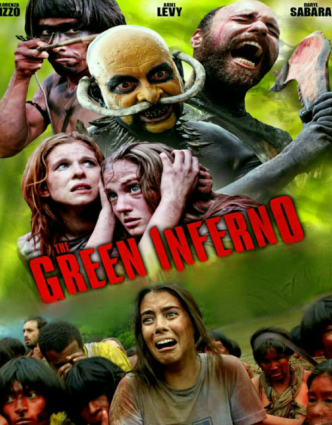 The Green Inferno Horror Movie Cannibals Pop Horror Horror Movie