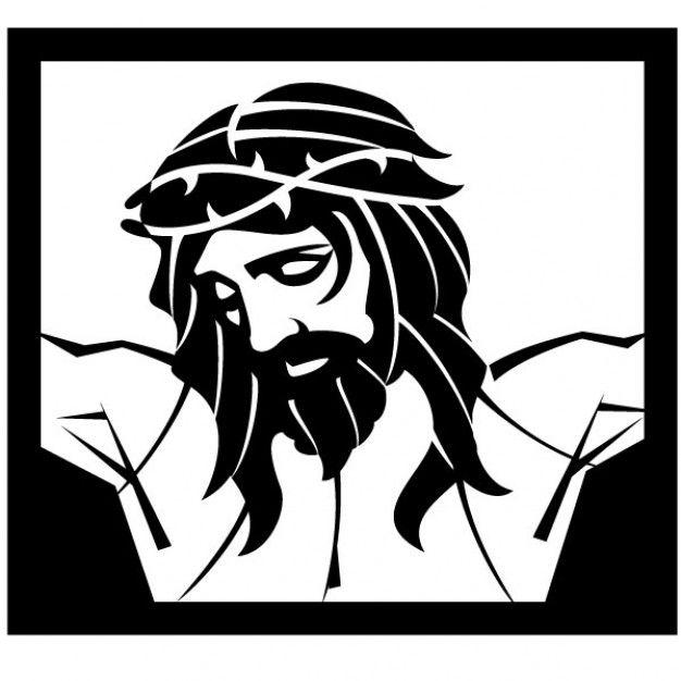 Jesus Christ crucifixion vector illustration | Tattoos | Pinterest ...