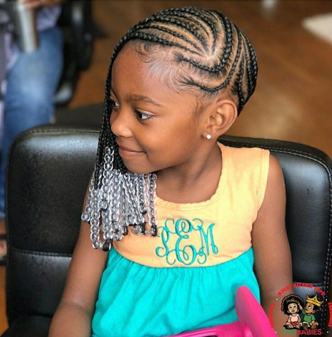 Children Wedding Hair Style: Stunningly Cute Ghana Braids Styles For Girls