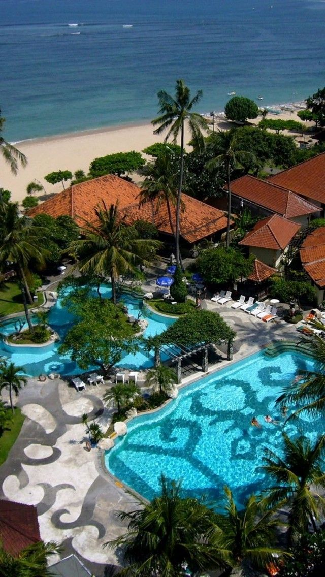 Inna Grand Bali Beach Hotel Sanur Indonesia Beautiful Places