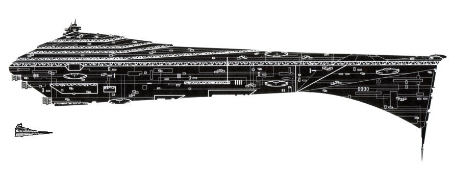 Eclipse-class dreadnought (With images) | Star wars empire, Star ...