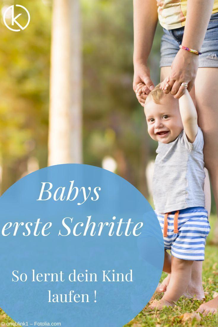 Wenn Babys Laufen lernen, beginnt ein neuer Abschnitt. Wann ist es soweit und wie kann man sein Kind bei den ersten Schritten begleiten und unterstützen?