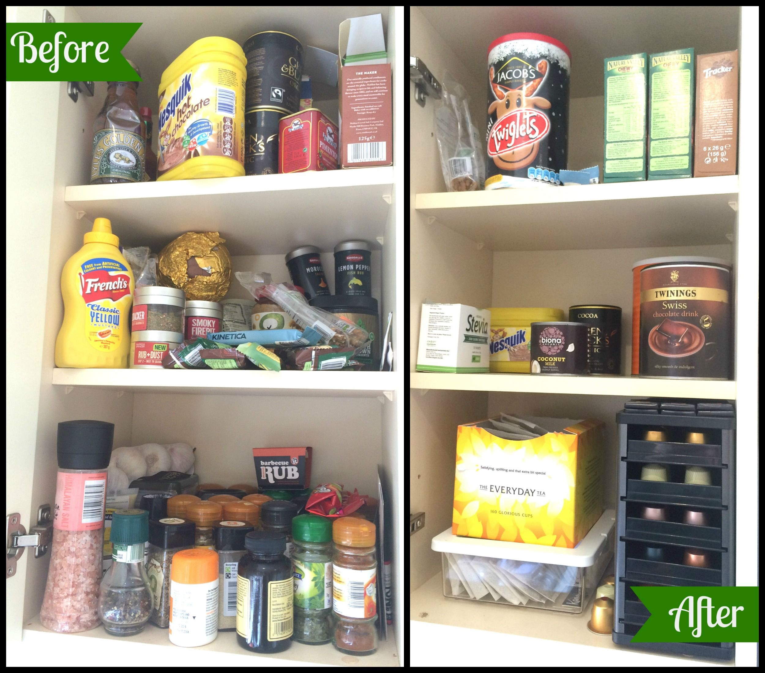 My KonMari Journey – Komono – Kitchen | self reliance ...