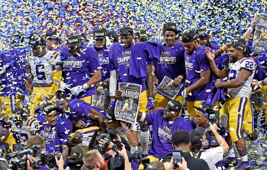 Purple Golden How The 2019 Lsu Tigers Dominated College Football To Win A National Championship In 2020 Lsu Lsu Football Lsu Tigers