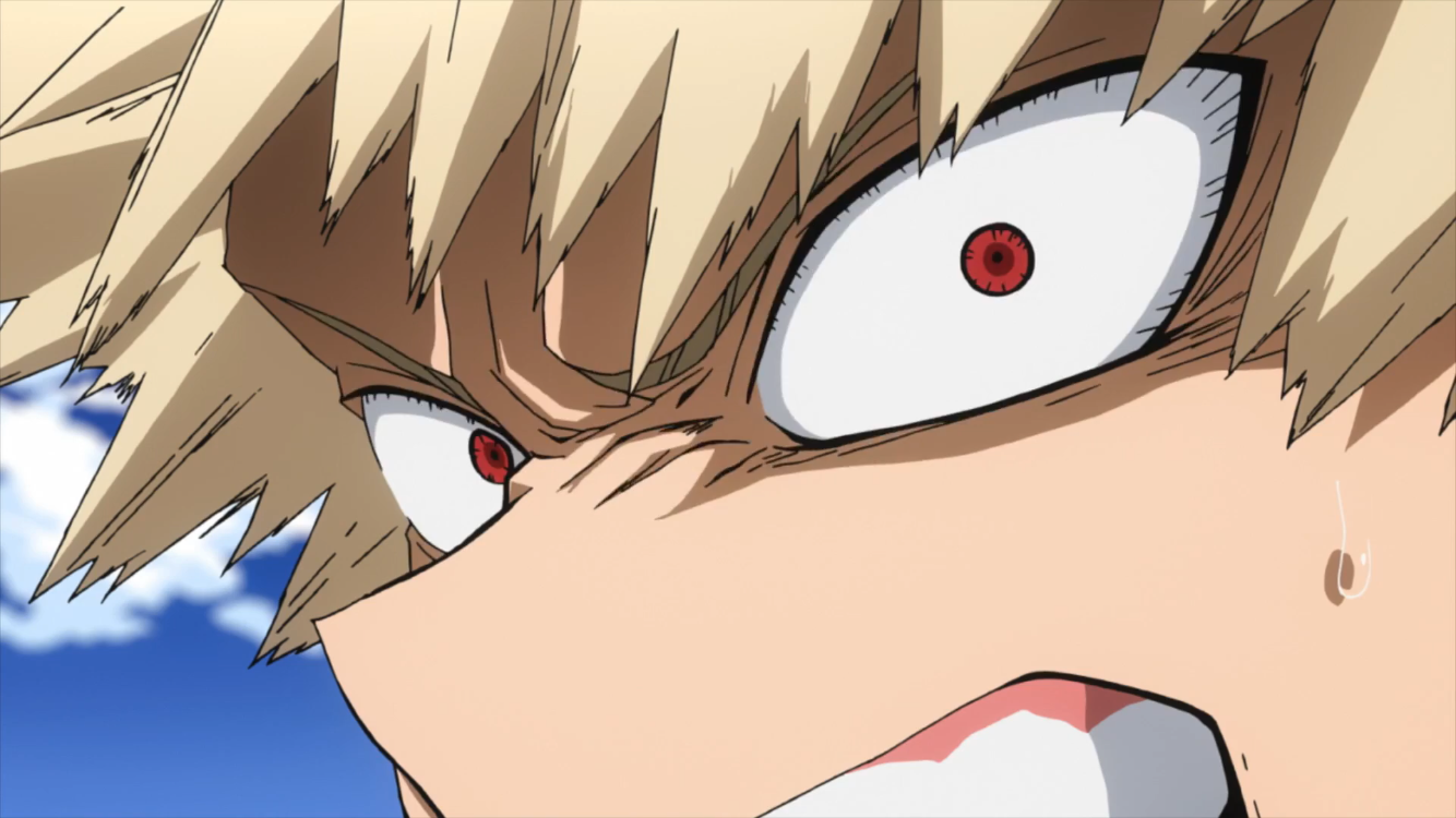 Bakugou Eyes