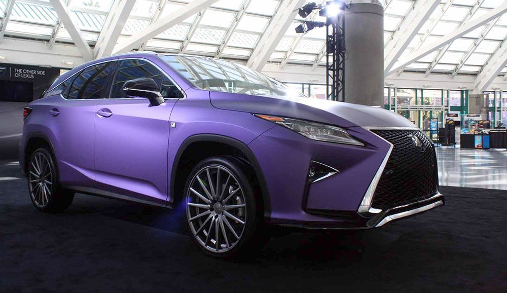 Gallery Modified Lexus Vehicles On Display At La Auto Show With