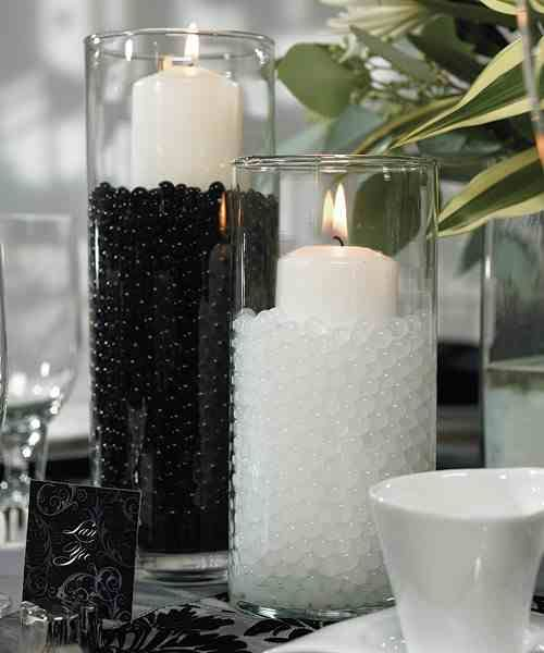 black white party ideas deko party and more pinterest deko dekoration und hochzeit deko. Black Bedroom Furniture Sets. Home Design Ideas