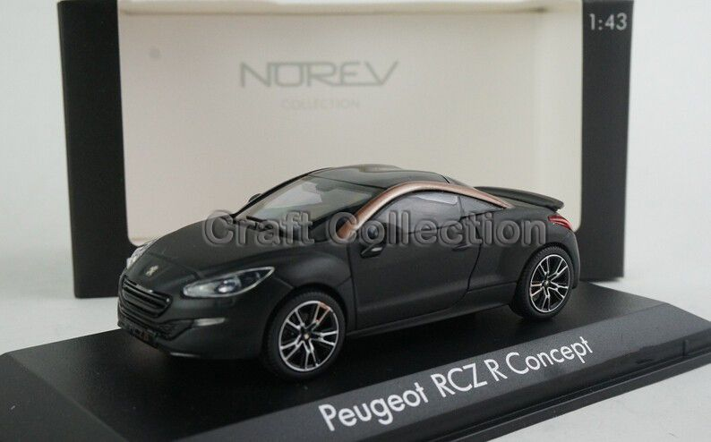 1:43 PEUGEOT RCZ R Alloy Model Diecast Cars Toy Vehicles Limited Edition  Craft