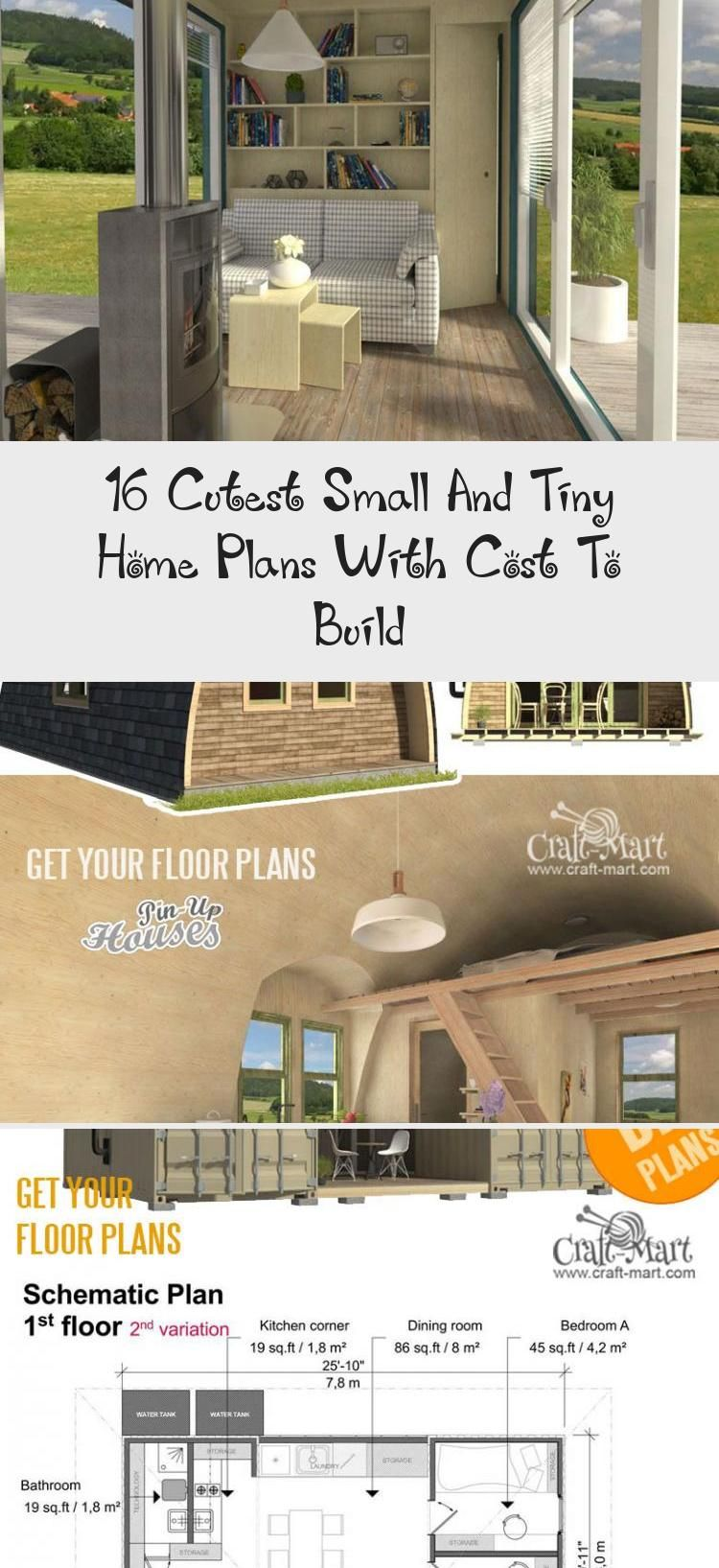 Small And Tiny Home Plans With Cost To Build Small Bungalow House Plans Mila Tinyhousemovement Tinyhousehacks In 2020 Tiny House Plans House Plans Small Bungalow
