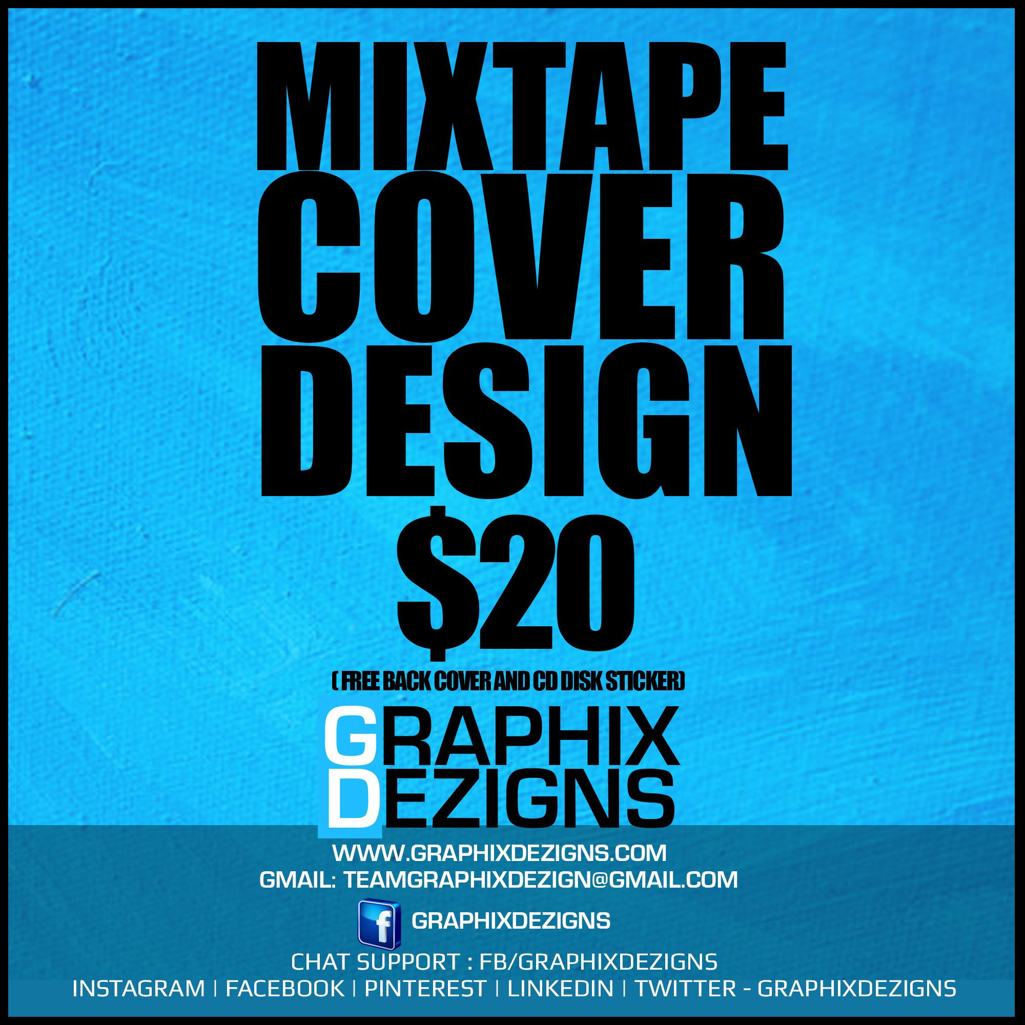 Poster design cost - High Quality Mixtape Cover Design For The Best Price Designed By Graphixdezigns Cd Cover Cost