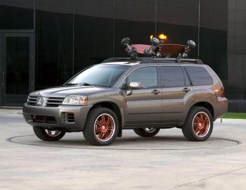 Mitsubishi Endeavor Concept By Ballistic Unlimited 2003 Mitsubishi Mitsubishi Motors Car