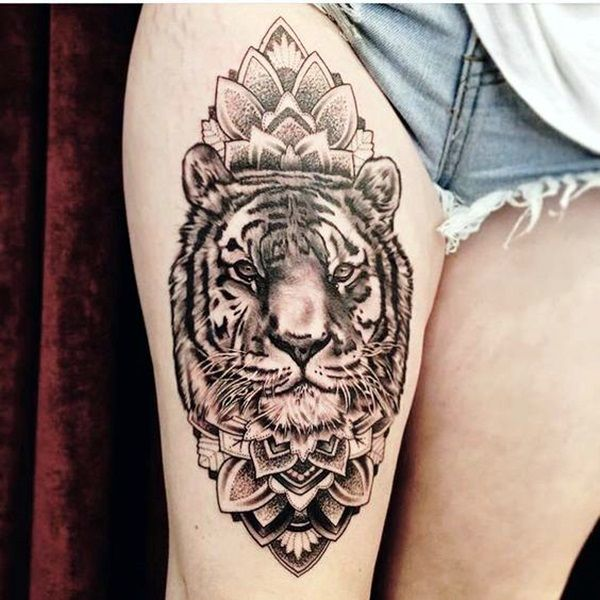 50 Tiger Tattoo Designs For Daredevils Like You Latest Fashion Trends Beste Tattoo Tattoo Ideen Tatowierungen