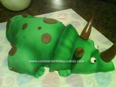 Dinosaur shaped cake recipe