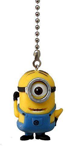 MINION yellow guys goggles Ceiling FAN Pull light chain (monocle One Eye goggle) Knight http://www.amazon.com/dp/B00NABR0JU/ref=cm_sw_r_pi_dp_hVZhvb04X7F9A